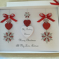 Personalised Christmas Card Gift Boxed Wife Girlfriend Mum Daughter Husband