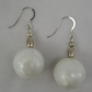 Pearlescent Ball Earrings
