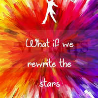 The Greatest Showman movie Inspired 'Rewrite the Stars' poster A4