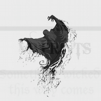 Harry Potter Inspired Prisoner of Azkaban Death Eater Magnet A6