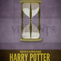 Harry Potter Inspired Prisoner of Azkaban Time Turner poster A4