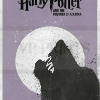 Harry Potter Inspired Prisoner of Azkaban Sirius Black poster A4
