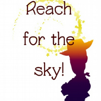 Toy Story 4 Inspired Reach for the Sky A5 blank inside card greetings