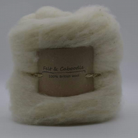 core wool- Pure British topped fleece 250g