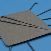 2 pack 40 Gauge triangular felting needle