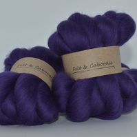 Merino Top Purple