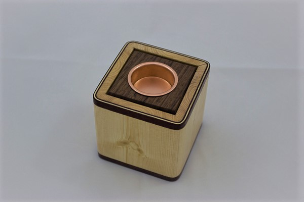 Wooden Tea Light Box