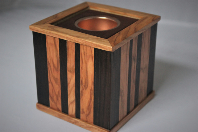 Wooden Tealight holder Box