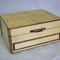 Unique wooden jewellery box