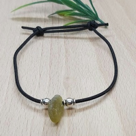 Seaham sea glass friendship bracelet.