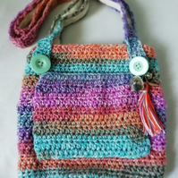 Multicoloured Child's Charm Bag.