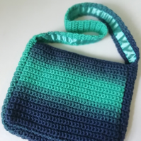 Aurora Night Sky Crochet Handbag