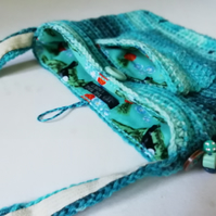 Tasselled Crochet Festival Bag