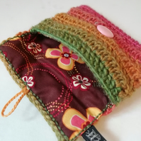 Autumn Crochet Coin Purse.
