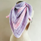 Pastel Triangle Scarf