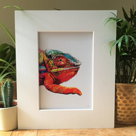 Chameleon Limited Edition Fine Art Print