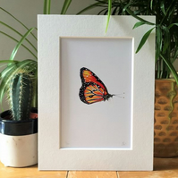 Monarch Butterfly Limited Edition Art Print