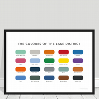 Lake District Print - The Colours of the Lake District Print - Poster