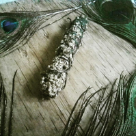 Mugwort smudge stick - prayers healing cleansing divination trance journeying