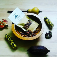 Raw Organic Cacao Beans 50g -  drinks ceremony cooking chocolate Ingredients