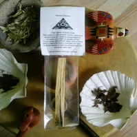 Palo Santo Smudge Stick - Holy wood incense cleansing healing scents house bless