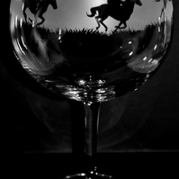 RACEHORSE Gin Balloon or Cocktail Glass