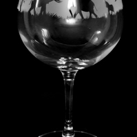 Elephant Gin Balloon or Cocktail Glass