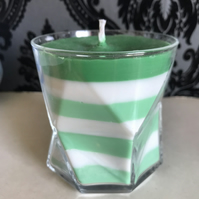 Slytherin Glass Candles