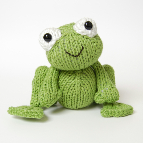 PDF Knitting Pattern for Frog Prince - Folksy