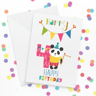 Personalised 4th Birthday Card