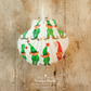 Hanging Green Elf Giant Scallop Shell Decoration by Netties Shells