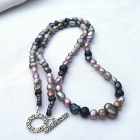 Multi Freshwater Pearl Necklace