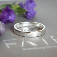 Argentium (sterling) Silver Ring