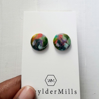 Large Resin Earrings