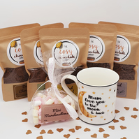 Mother's Day Taster Set - Hot Chocolate Taster Set - Mother's Day Mug Gift Set