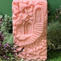 Smelly Sheep Goat's Milk Soap - Magical Fairy Door - Large Chunky Bar