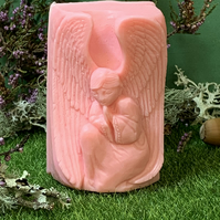 Smelly Sheep Goat's Milk Soap - Praying Angel - Large Chunky Bar