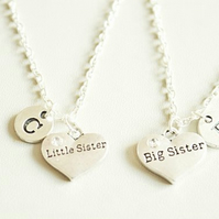 Big Sister Little Sister Necklaces