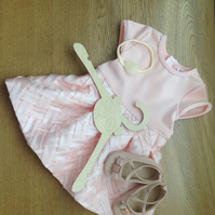 Wooden Baby Hanger, photo prop
