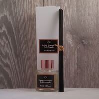 Luxury Sweet Orange & Chilli Pepper Reed Diffuser