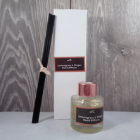 Luxuryl Lemongrass & Ginger Reed Diffuser