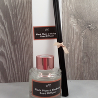 Luxury Black Plum & Rhubarb Reed Diffuser