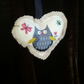 Heart Decoration Owl