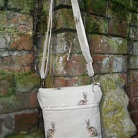 A  Shoulder, Tote, Messenger, Travel, Cross Body Bag With Hartley Hare
