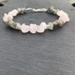 Rose Quartz and Labradorite essential oil bracelet