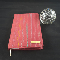Handmade A5 notebook, sketchbook cover