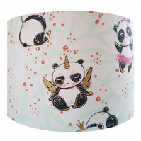 Panda Unicorn Lampshade - Light Ceiling Shade Vintage Baby Nursery