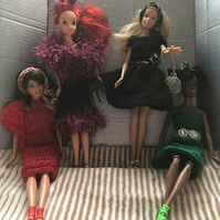 BARBIE or SINDY CLOTHES x 4 Outfits: Totally UNIQUE