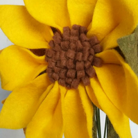 Felt Sunflower Bouquet