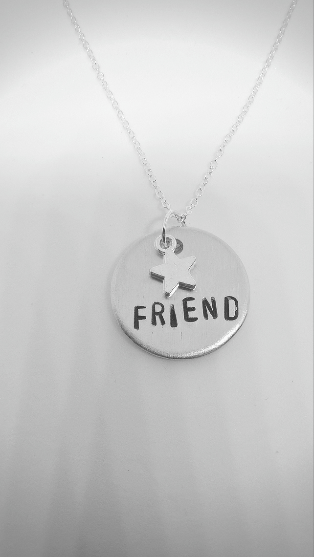 Star friend pendant